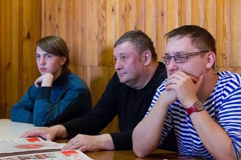 Встреча томской и кемеровской ячеек